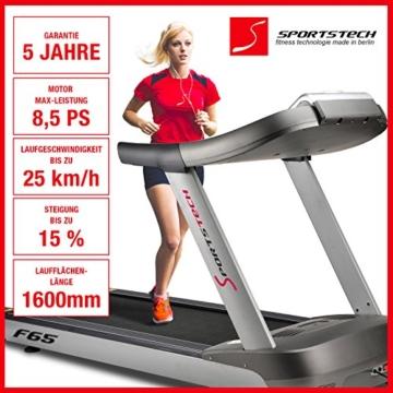Sportstech Laufband F66 24 km/h