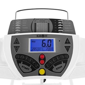 Klarfit Laufband Pacemaker FX5 Laufband 12 km/h