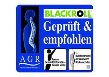 BLACKROLL - DAS ORIGINAL Standard (hard) Farbe schwarz + DVD + Übungsanleitung -