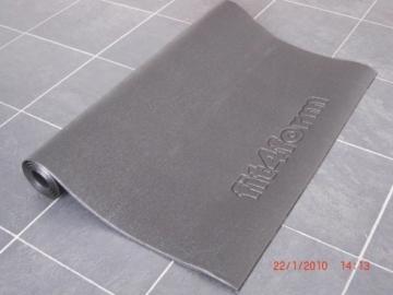 fit4form Bodenschutzmatte 220 x 110 cm für Fitnessgeräte, Crosstrainer, Laufband, Kraftstation Schutzmatte, Trainingsmatte, Unterlegmatte -