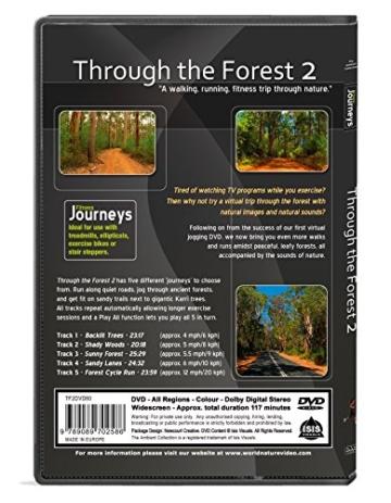 Fitness Reisen - Durch den Wald 2, Radfahren und Laufband-Training -