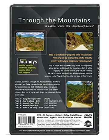 Fitness Reisen- Durch die Berge, Radfahren und Laufband-Training -
