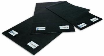 Horizon Fitness Unterlegmatte für Halbliege-Ergometer, Elliptical Ergometer und Laufbänder, 100 X 200 cm, 100729 -