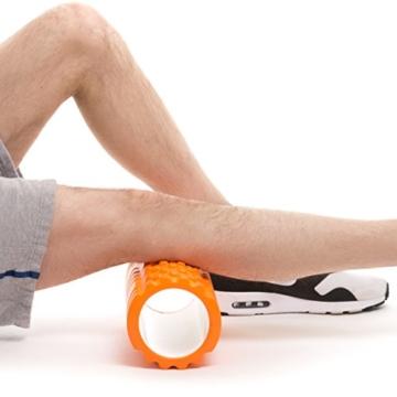 Orange Faszien Rolle - Massagerolle Für Muskelmassage -