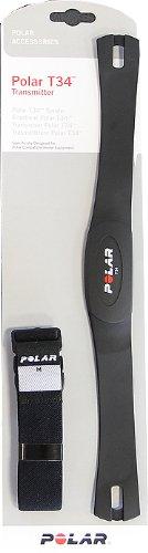 Polar Laufband Brustgurt T34 (uncodiert) mit elastischem Gurt - 1