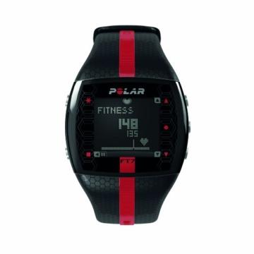 POLAR Sportuhr FT7M Black Red, 0725882013046 -