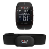POLAR Trainingscomputer M400 HR, Schwarz, 90051341 -