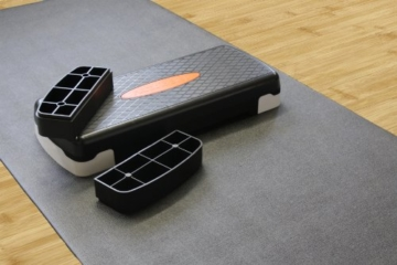 Ultrasport Fitness Multifunktionsmatte, 120x60cm, anthrazit, 331100000054 -